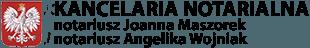Kancelaria Norarialna - notariusz Joanna MAszorek notariusz Angelika Wojniak